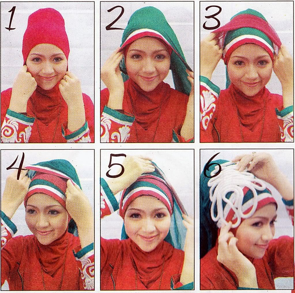 Hijab Pashminaa Cara Memodel Jilbab Images